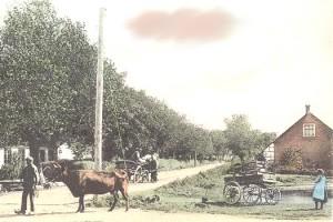 Hjørnet af Himmelev Bygade og den vej der nu hedder Fynsvej